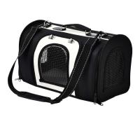 China Black Color Pet Carrier Tote , Dog Carry Case Durable OEM / ODM Available on sale
