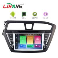 Cheap Touch Screen Android 8.0 Hyundai Car DVD Player With Wifi BT GPS AUX Video for sale