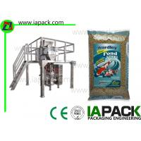 China Fish Food Granules Vertical Form Fill Seal Packaging Machines Linear Scales wholesale