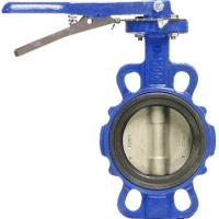 China A Type Soft Seated Worm Butterfly Valve with gearbox on sale