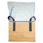 Large Capacity Polypropylene FIBC Bulk Bags / PP Ton Bags for Food, Transport Packaging