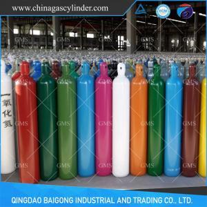 China 40L seamless steel oxygen/argon/nitrogen/CO2/helium gas cylinder on sale