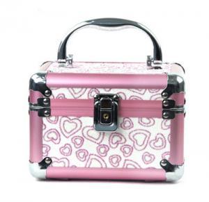 Best Custom Decorate Jewelry Train Case Aluminium Material For Travel wholesale