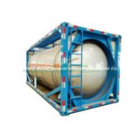 Tcs 20feet Beam Type Tank Container T14 (Liquid cargo container) for Chemical Hydrogen Silicon 21.6cbm Trichlorosilane (SiHCl3) Storage and Transport