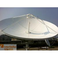 China 2.4m C Band Satellite Antenna Dish/ Uplink Station Satellite Communication Antenna on sale