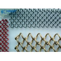 China Aluminum Decorative Wire Mesh For Cabinets Weather Proof  Firm Durable Structure on sale