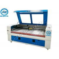 Best No Burr / Fraying CO2 Laser Cutting Engraving Machine , Automatic Fabric Cutter wholesale