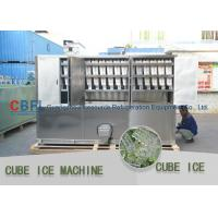 3 Ton Per Day Ice Cube Machine / Commercial Grade Ice Machine ISO SGS BV