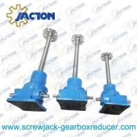 China 1 Ton Ball Screw Jack High Precision Ball Screw Dia. 20MM Lead 4MM Gear Ratio 6:1, 24:1 on sale