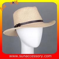 Best 2050530 Sun Accessory customized  summer  trendy fashion cowboy straw  hats  ,unisex hats and caps wholesaling wholesale