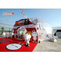 Best 14m Diameter Clear top Geodesic Dome Tents for outdoor carnival , PVC Dome Tent wholesale