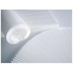 China Polypropylene Mini Pleat Filter Media,Composite Mini Pleat Filter,Air Filter Media,Filter Material on sale
