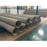 Buy cheap TP304H , DIN 1.4948 Welded Stainless Steel Pipe and Tube , Heat Treatment product