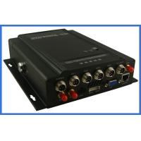 China MPEG-4 GPS vehicle DVR 4 channel H.264 Digital Video Recorder  HDD storage support on sale