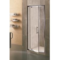 Best Swing Small Glass Shower Enclosures 6mm Tempered Clear Aluminum Alloy Framed wholesale