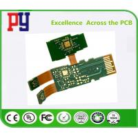 China Green Solder Mask Rigid Flex Circuit Boards , Pcb Printed Circuit Board Lead Free on sale