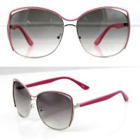 Best UV Protection Fashion Women Metal Frame Sunglasses with Polarized Lens wholesale