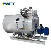 Buy cheap Gas oil hot water boiler Environmentally friendly WNS 2.1 MW 200kg/h Diesel Consumption from wholesalers