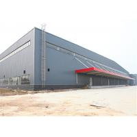 Best Portal Structure Prefabricated Metal Buildings , Galvanized Prefab Steel Workshop wholesale