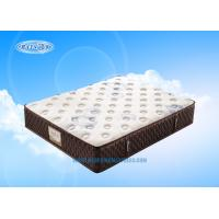 Best Two Layers Spring Hotel Mattress Topper , Slat Bed Mattress For Bedroom wholesale
