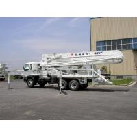 China High Reliability ISUZU 5R47M Truck-mounted Concrete Pump Truck 455Hp on sale