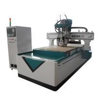 Best Air Cooling Spindle Carved CNC Router Wood Carving Machine Six Zones Design wholesale