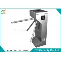 Buy cheap Automatic Three Rollers Turnstiles / Employees Attendance Barrier Gate product