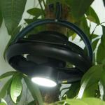 Best Portable 10 LED Tent Ceiling Fan / Multi Functional Camping Fan Light wholesale