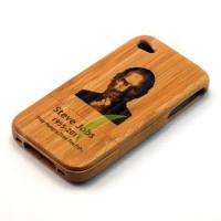 Best Earth Friendly Wooden Hard Case Cell Phone Faceplate Covers For IPhone 4 wholesale