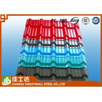 Best 0.3mm to 1.2mm Building Exterior Corrugated Roof Sheeting For Shead And Fencing wholesale