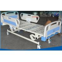 Best Triple Folding Manual Hospital Bed , Luxury Patients Intensive Care Bed wholesale