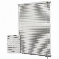 China Aluminum Privacy Venetian Blinds with Routing Holes and Square/Round Head Rail on sale