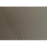 Best Satin Black Aluminum One Way Vision Mesh , 1.6 - 2.0 Mm One Way Vision Window Screen wholesale