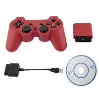 3 in 1 Wireless For PS2/ PS3/PC Controller 2.4G Wireless Bluetooth Gamepad For PS2/ PS3/PC Dualshock Controller
