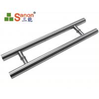 Best ASTM Stainless Steel Pull Handle Tempered Glass Door Handle 304 Material wholesale