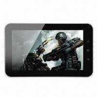 """Best 7"""" Ultra-thin 512MB/4GB Tablet PC, Allwinner A10/Android 4.0 OS/Camera/G-sensor/5-point Capacitive wholesale"""