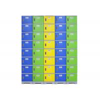 China Bedroom Plastic Clothes Locker , Customized Color Plastic Employee Lockers on sale