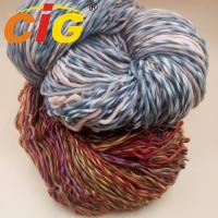 Best Colorful Acrylic / Cotton / Wool Yarn For Knitting Woman Scarf In Spring / Winter wholesale