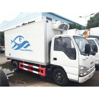 Best ISUZU 4 Ton - 5 Ton Ice Box Truck , 3 Layer Refrigerated Cold Room Truck wholesale