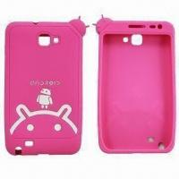 China Mobile Phone Covers/Silicone Cases for Samsung Phone Cover, RoHS Mark on sale