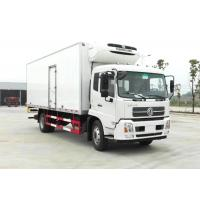 China 10 Ton Donfeng Refrigerated Delivery Truck , Refrigerator Box Truck With Thermo King Refrigerator on sale