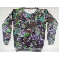 China custom sweaters thick fleecing sublimation sweater high quality no fading sweater on sale