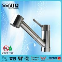 Best SENTO Unique design stainless steel kitchen mixer with single lever wholesale