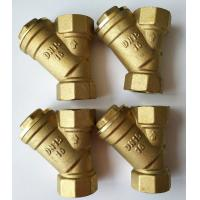 China 3/4 1 2 Copper Filter Y Strainer Valve Brass Filter Valve For Solar Water Heater on sale