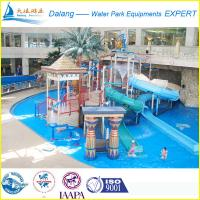 Buy cheap 12M Attractive Waterpark Equipment Alton Tower Fiber Glass And Steel Pipe from wholesalers