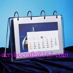 Best 2015 desktop acrylic brochure holder / acrylic calendar holder wholesale