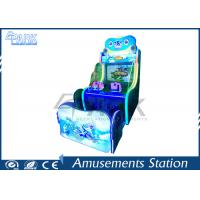 China Children Playground Equipment Shooting Arcade Machines with Rotational Molding Material on sale