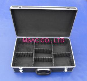 China Detachable Aluminium Storage Box , Hand Tool  Aluminum Hard Case With Foam on sale