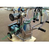 Best Manual Single Bucket Mobile Milking Machine for Dairy Cow Farms wholesale