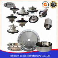 China Vacuum Brazed Diamond Tools for Cutting / Shaping / Curving Stone on sale